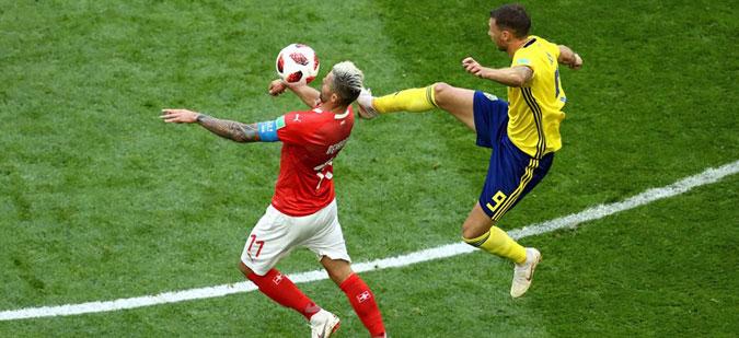 Шведска во четвртфинале по триумфот над Швајцарија