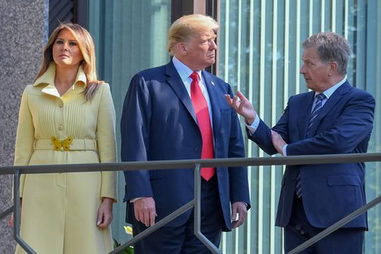 Трамп се сретна со финскиот претседател Нинисто