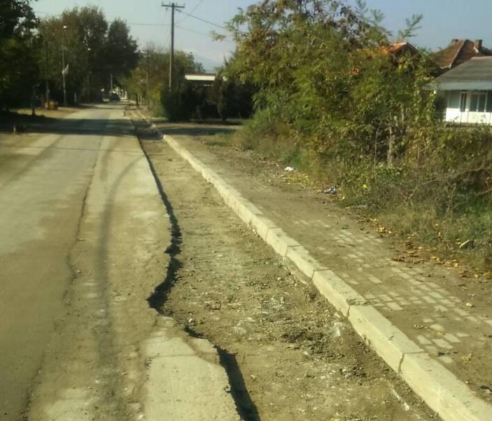 Затворен за сообраќај патот од Драчево кај пругата до село Лисиче
