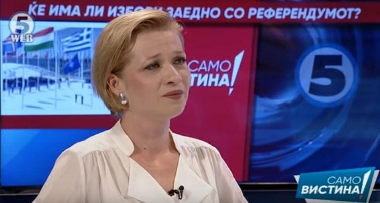 Василевска: Зоран Заев ниту програмски дојде да го менува името ниту имал мандат за тоа