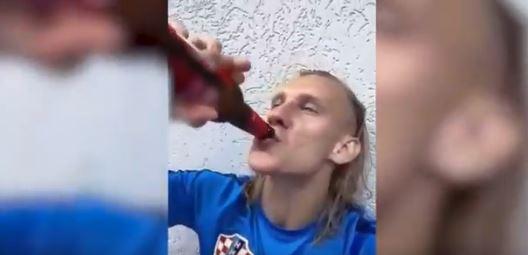 Скандалозниот репрезентативец пијан го прославува полуфиналето- Вида го запеа најпознатиот хит на Тома Здравковиќ (ВИДЕО)