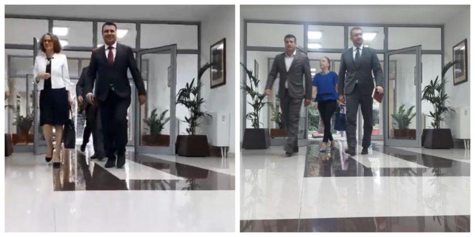 ФОТО: Пристигнаа политичките лидери, започнува лидерската средба