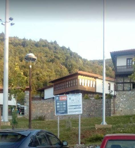 """Зонско паркирање пред Комплексот """"Македонско село"""" во Нерези"""