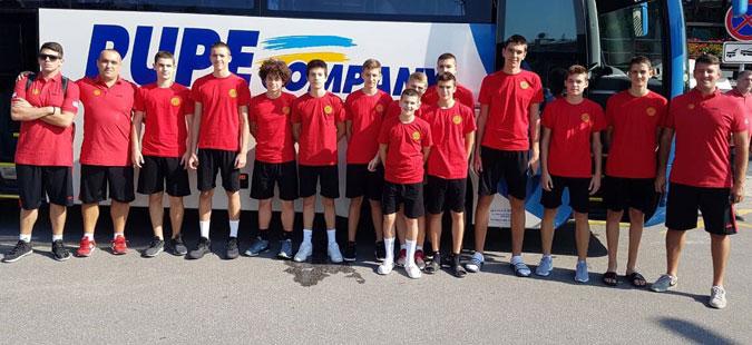 """Македонските кошаркари до 14 години почнуваат со настапите на """"Словенија Бол"""""""
