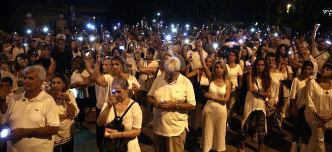 Емотивно: Собир во чест на жртвите од пожарите во Грција (Фото)