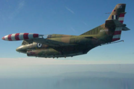 Се сруши грчки воен авион, загина пилотот
