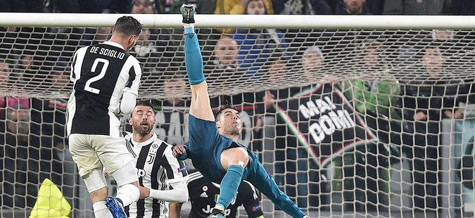 Голот на Роналдо против Јувентус прогласен за најдобар на сезоната (видео)