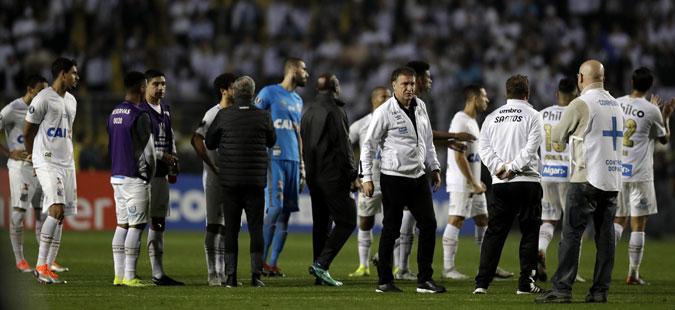 Навивачи прекина натпревар од Копа Либертадорес