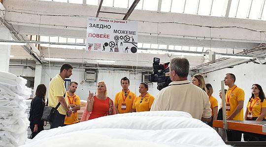 Учесниците на Школата за млади лидери посетија три компании во Прилеп
