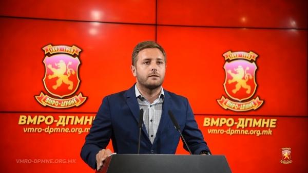 Арсовски: Приведувањето на лидерот на ГРОМ, Стевче Јакимовски е одмазда кон политичките неистомисленици