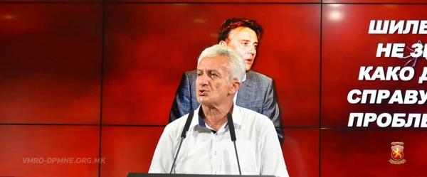 Јовевски: Шилегов е градоначалник кој не може да се справи со обични комарци, а не пак да сработи некој капитален проект за скопјани
