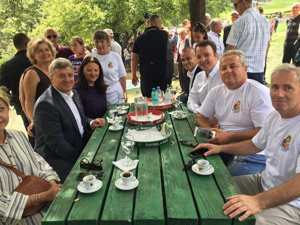 Николоски на црковно-народниот собир во охридското село Скребатно по повод Голема Богородица