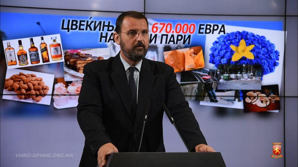 Стоилковски: Додека деца ги губат животите заради некаква штедливост во здравството, владата двои неверојатни 660 илјади евра за цвеќиња и 45 илјади евра за кафиња