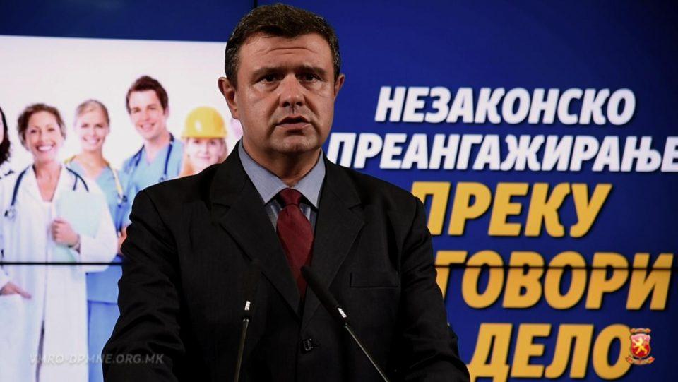 Мицевски: Да не се прекршуваат законите, а со цел привремено вработување на административни службеници
