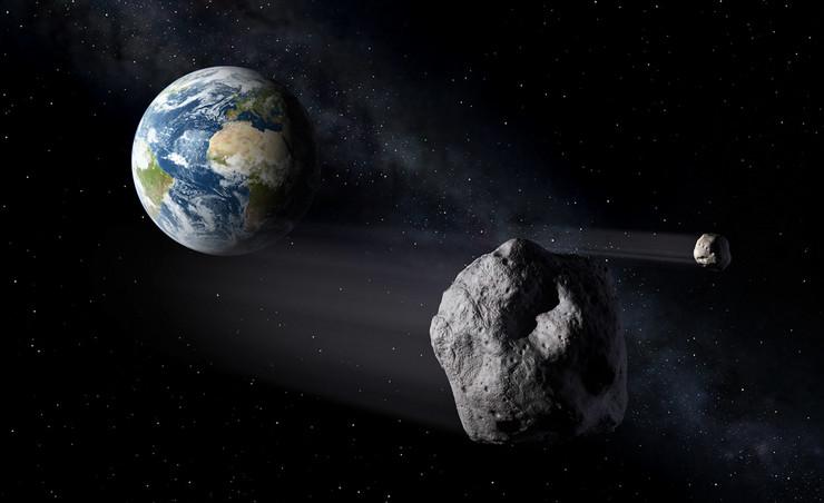 НАСА предупредува: Опасен астероид се движи во вселената