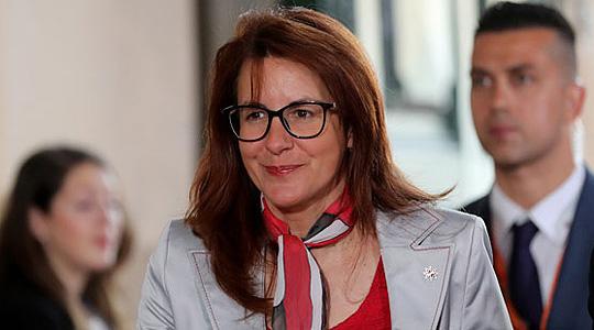 Словенечката министерка за одбрана во посета на Македонија