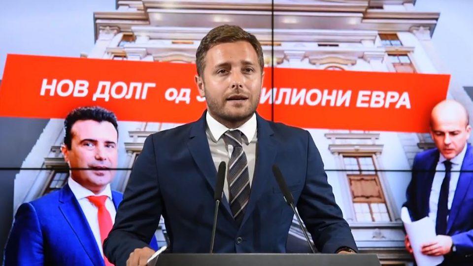 Арсовски: ВМРО-ДПМНЕ бара власта да престане со расипничкото однесување и неразумните задолжувања