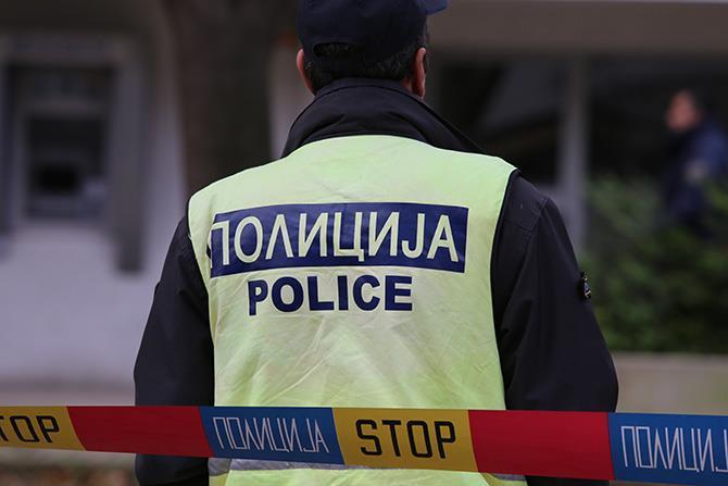 Се запали дел од полициската станица во Валандово, увид на местото вршела екипа од СВР Струмица