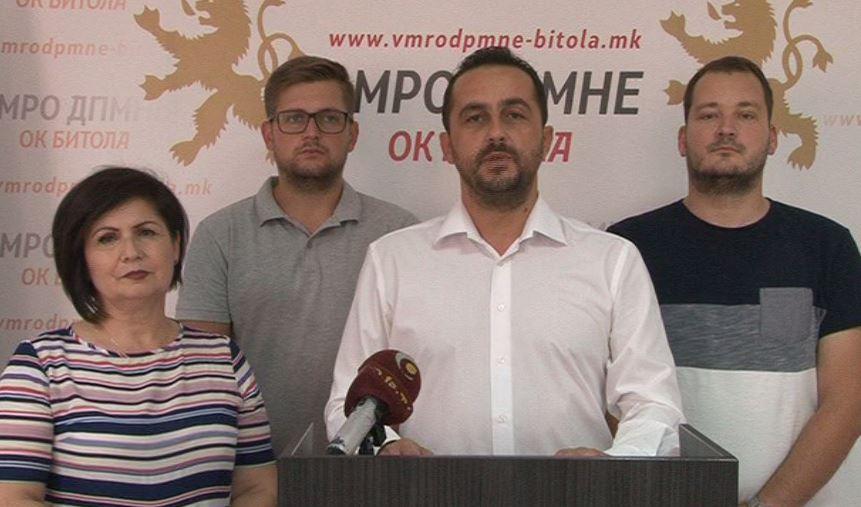ОК ВМРО-ДПМНЕ Битола: Скандалите со непотизмот на актуелната власт во Битола во овие неколку месеци владеење никако да застанат