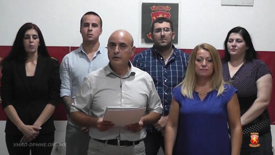 Владев: Градоначалникот од СДСМ на Свети Николе не води грижа за жителите на Свети Николе, општината тоне во смет