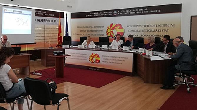 Шест приговори за референдумот до ДИК, рокот за подонесување до 22 часот