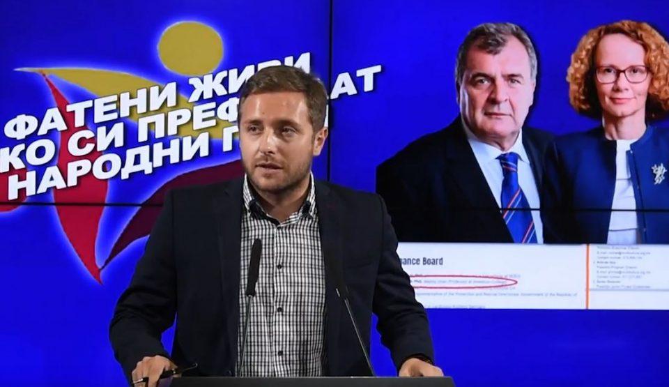 Арсовски: Молкот кај Шекеринска и нервозата и нетрпението кај Шапуриќ покажуваат дека се фатени живи како си префрлаат народни пари меѓусебе