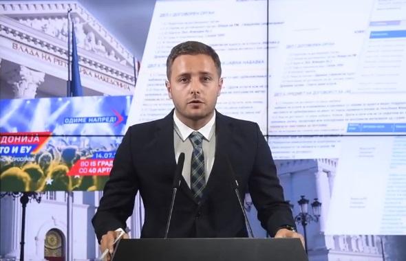 Арсовски: Како владата додели 40 илјади евра повеќе од соопштеното во сомнителна постапка за пропадната прослава за НАТО?