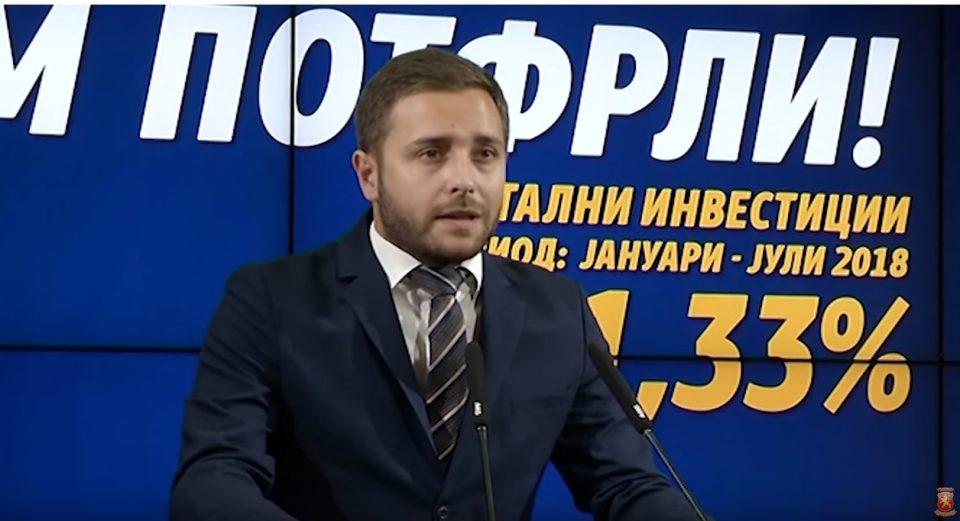 Арсовски: За 7 месеци, економското трио Заев, Тевдовски, Анѓушев успеа да ја крахира македонската економија