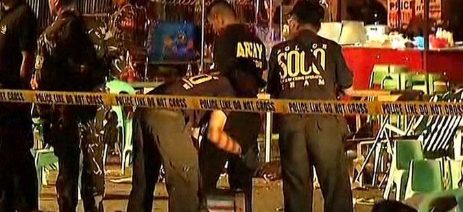 Експлозија за време на градска прослава на Филипините, има жртви