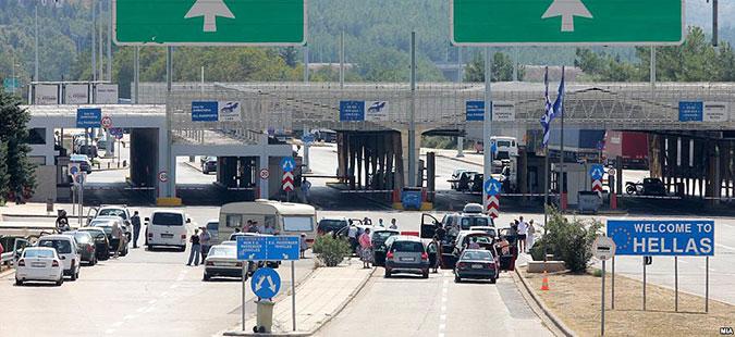 """АМСМ: На граничниот премин """"Богородица"""", утрово за излез од државата се чека од 15 до 30 минути"""
