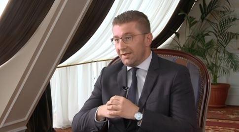 Мицкоски: Нашата заложба беше да имаме едносмислено прашање за референдум кое ќе се однесува само на договорот со Грција