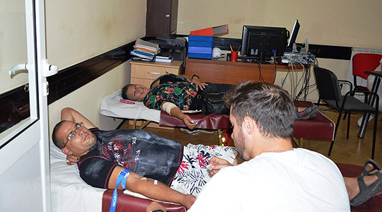 Крводарителска акција во Василево