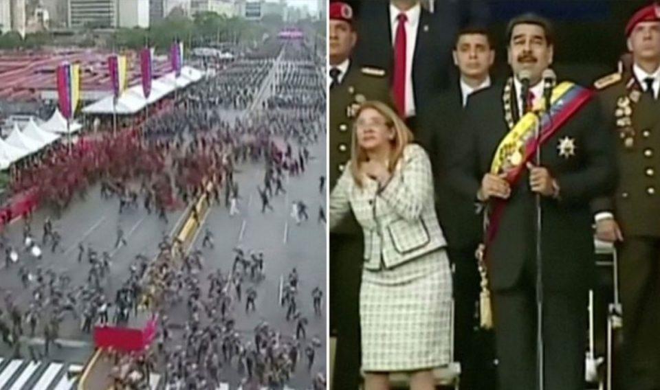 Хаос и паника во Венецуела: Обид за атентат со дрон врз претседателот Мадуро (ВИДЕО)