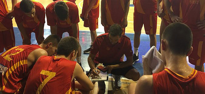 Македонија ја совлада Данска на ЕП за кошаркари до 16 години
