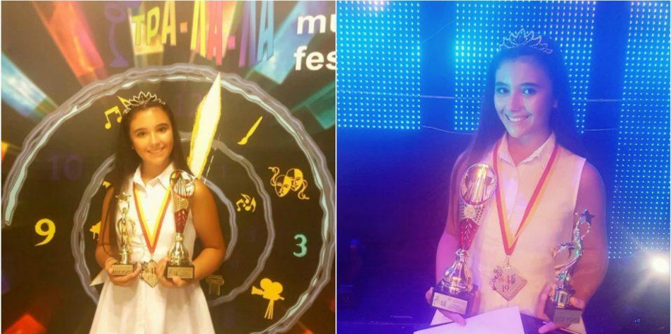 Младата Марија Спасовска продолжува да нижи успеси: Успеа да го освои интернационалното жири на фестивалот Тра-ла-ла (ФОТО+ВИДЕО)