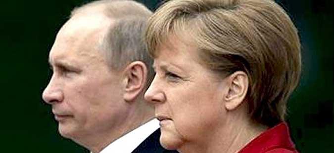 Меркел на средба со Путин в сабота близу Берлин