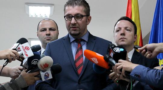 Мицкоски: ВМРО-ДПМНЕ по консултациите ќе се изјасни за референдумската кампања