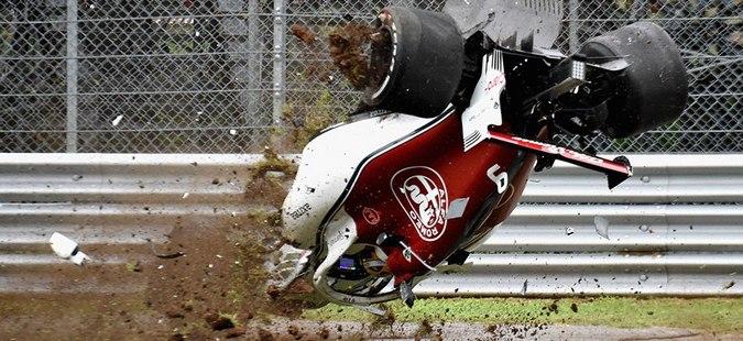 """Тешка несреќа на Ериксон на тренингот во """"Монца"""""""