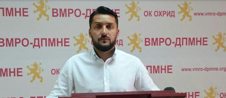 Божиновски: Поради катастрофалната работа на СДСМ во здравството секојдневно се губат човечки животи