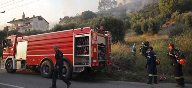 Нов пожар во источниот дел на областа Атика