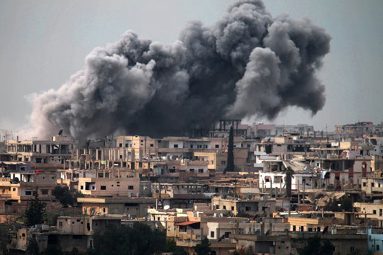 Над 90 загинати во судири во северозападна Сирија