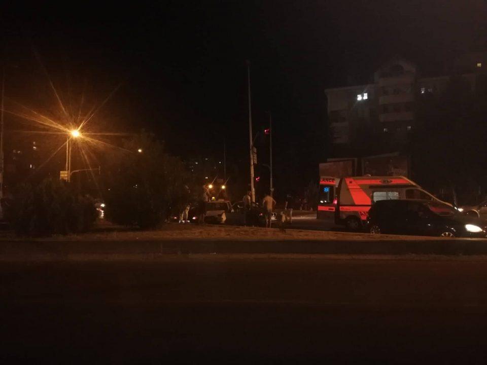 ФОТО: Тешка сообраќајка кај Скопјанка, има повредени