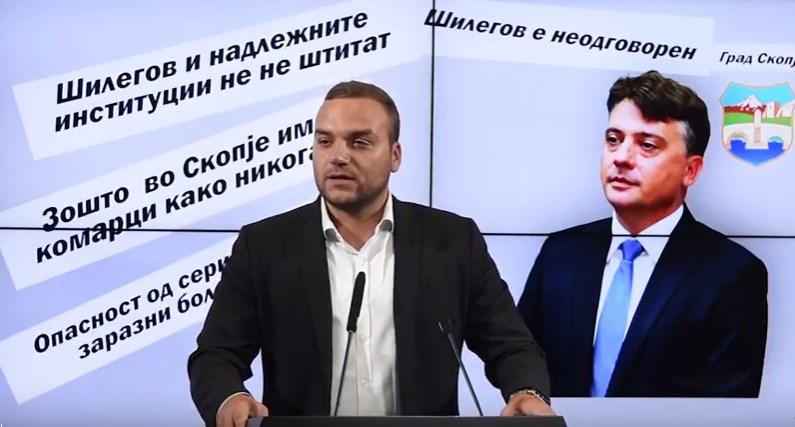 Кепевски: Шилегов ни мува, а ни комарец не го лази- да се вршеа прскањата Скопје немаше да се претвори во зона на масовно цицање крв