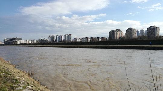 Двојно зголемен водостојот на Вардар