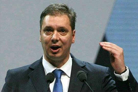 """Вучиќ: Германија веќе """"не разграничи"""" со признавањето на Косово"""