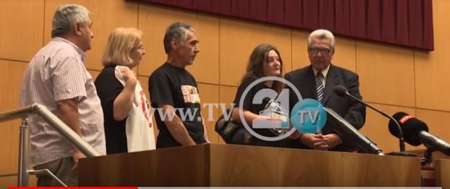 """""""Бојкотирам"""" ја """"прекинаа"""" расправата, поднесоа декларација на македонскиот народ до МАНУ (ВИДЕО)"""