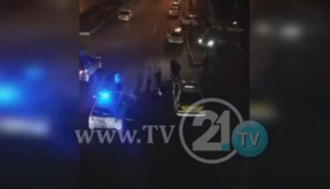Драма вчера вечерта на Бит Пазар: Таксист претепан со кундак и железо (ВИДЕО)