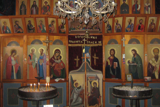По вторпат за четири месеци ограбена црквата на православните гробишта во Тетово