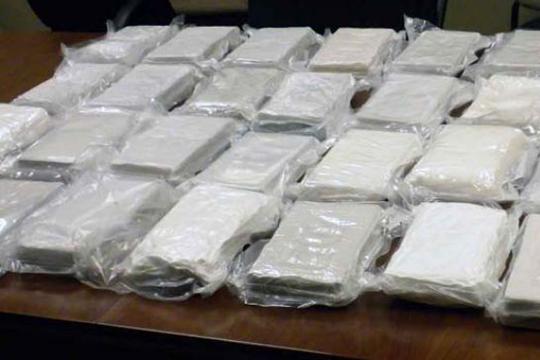 Повеќе од еден тон кокаин запленет во воена база во Еквадор
