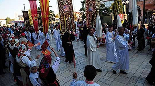 Литија во Скопје во пресрет на Рождество на Пресвета Богородица
